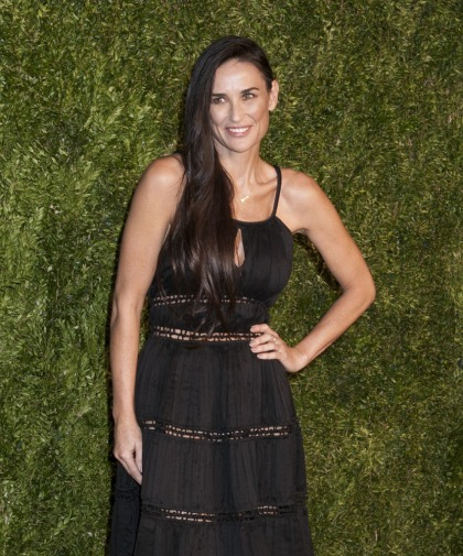 Demi Moore in Zac Posen at the CFDA Awards: boring or incredible?