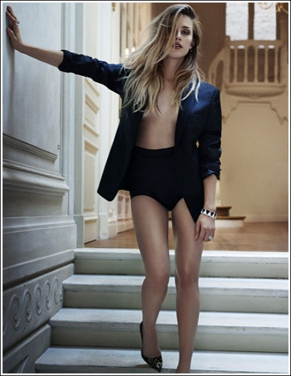 Exclusive Hi-Res Photos: Amber Heard Goes Braless For Marie Claire