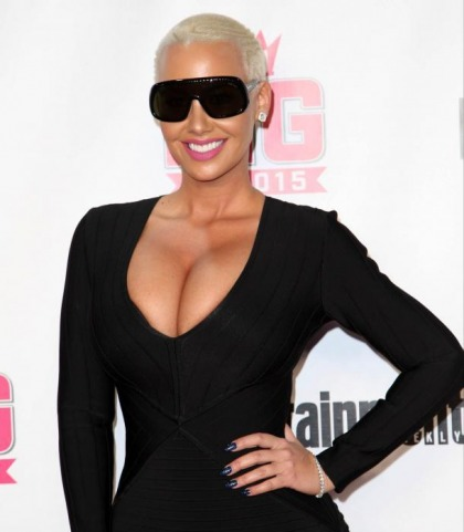 Amber Rose Is Big In 2015
