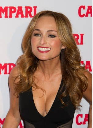 Giada De Laurentiis Busty Tiny Body at Campari Launch of the Bittersweet Campaign