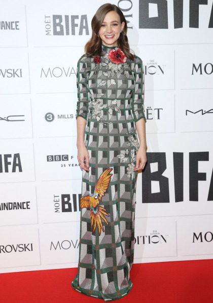 Carey Mulligan in Gucci at the Moet BIFAs: the worst-dressed of the event?