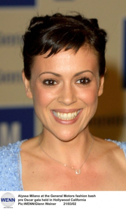 Alyssa Milano got a pixie cut: cute or looks like Kris Jenner?