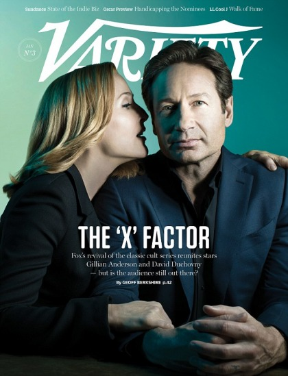 David Duchovny & Gillian Anderson cover Variety: 'we really like each other'
