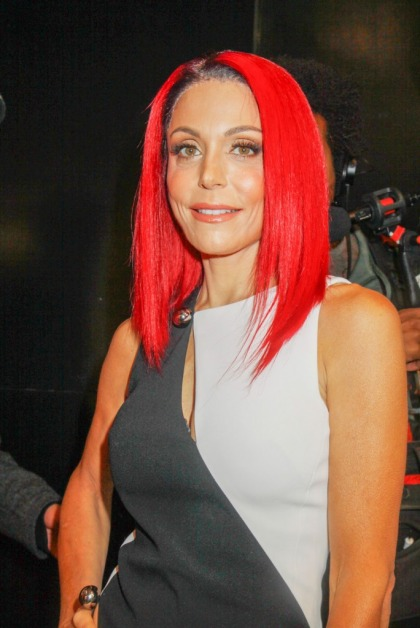Bethenny Frankel wears fuchsia extensions: idiotic or served its purpose?