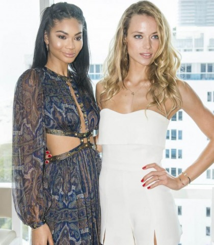 Chanel Iman And Hannah Ferguson Make A Great Pair