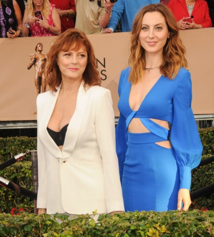 Susan Sarandon's SAG Awards cleavage took over the internet: no big deal'