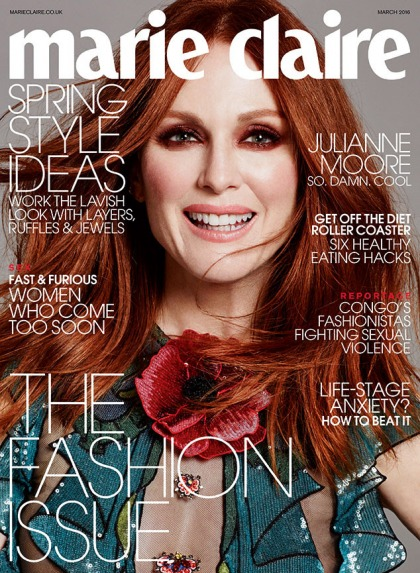 Julianne Moore: 'It's very difficult to find parts, no matter how old you are'