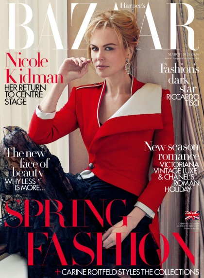 Nicole Kidman works so she won't 'live vicariously through my daughters'