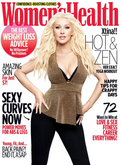 Christina Aguilera: 'I?m not into deprivation, I?m not into suffering' for my body