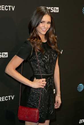 Nina Dobrev Steps Out For DirecTV Super Bowl 50 event in San Francisco