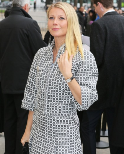 Gwyneth Paltrow takes 11-year-old Apple in for $200 Sonya Dakar facials