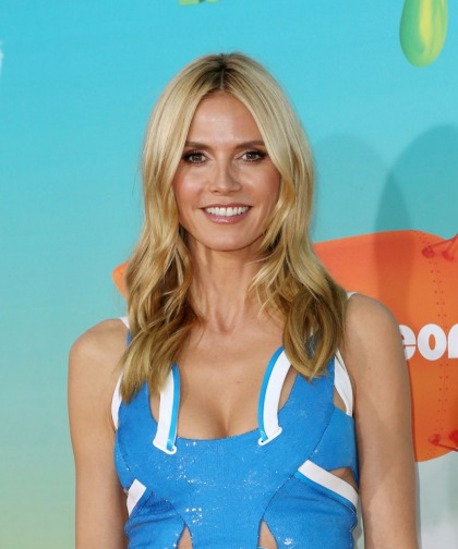 Heidi Klum in Versace at the Kids' Choice Awards: ridiculous or cute'