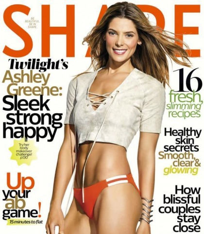 Ashley Greene Is In Shape!