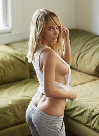 Sara Underwood Nipples at Hotel Ma Cherie Photoshoot March 2016