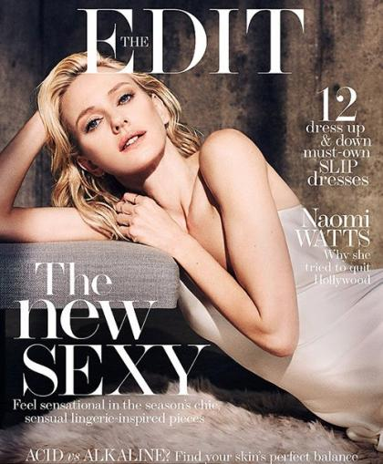 Naomi Watts Wows on the Cover of The EDIT