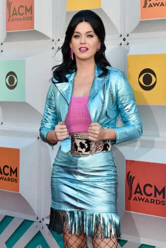 Katy Perry Amazing Outfit at 51st Annual ACM Awards