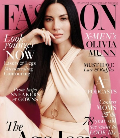 Olivia Munn's New Looking Face Is Fashion