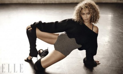 Beyonce Work, Work, Work, Work, Work, Works It For Elle Magazine