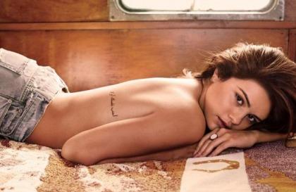 Selena Gomez Topless For GQ
