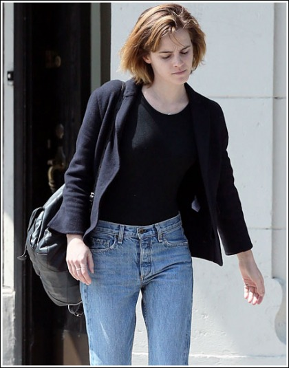 Emma Watson's Casual Hotness Could Use Some Work