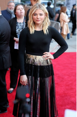 Chloe Grace Moretz Nice Pokies at the Tribeca Film Festival's opening night