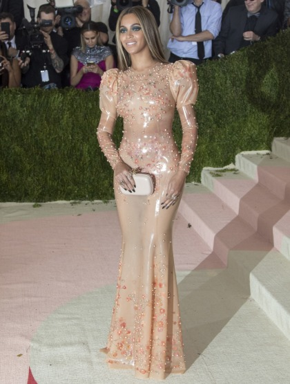 Beyonce in latex Givenchy at the Met Gala: stunning or uncomfortable?