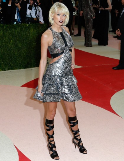 Taylor Swift & Selena Gomez in Louis Vuitton at the Met Gala: cute or tragic?