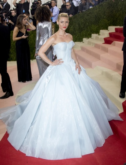 Claire Danes in illuminated Zac Posen at the Met Gala: perfection, breathtaking?