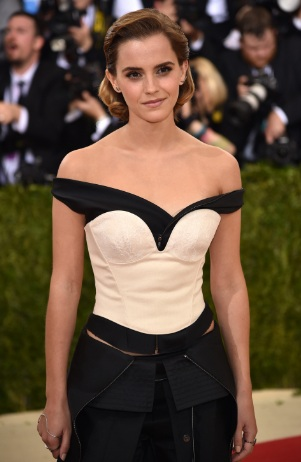 Emma Watson Lovely at Costume Institute Gala in New York City