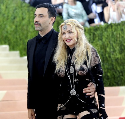 Madonna 'insisted' on having the Met Gala carpet to herself for photos