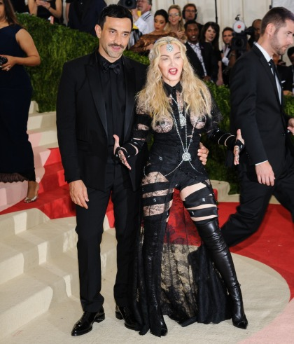 Madonna thinks people are sexist & ageist for not loving her Met Gala outfit