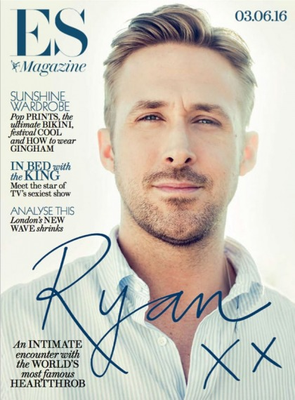 Ryan Gosling: 'Women are better than men. They are stronger, more evolved'