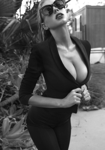 Charlotte McKinney Hottest Body Alive at Tony Duran Daily Book Shoot