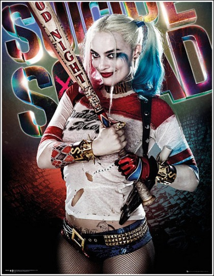 Margot Robbie's Insanely Sexy Harley Quinn Poster Will Melt Your Freaking Eyeballs!