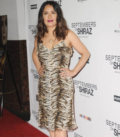 Salma Hayek Is A Flintstone