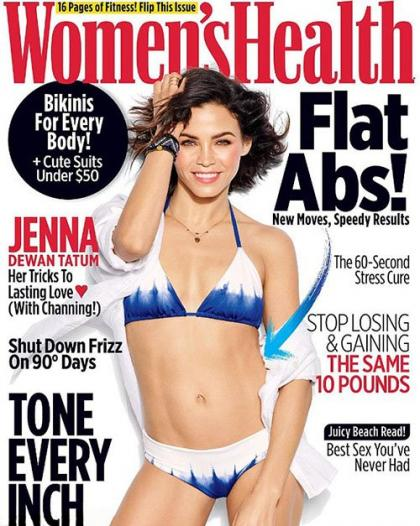 Jenna Dewan is Dreamy on the July 2016 Cover of Women's Health