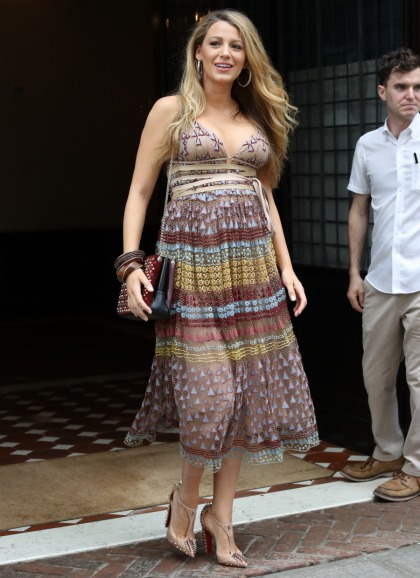 Blake Lively's promotional maternity style: stunning, underwhelming or so-so'