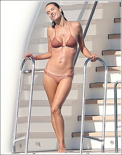 Alessandra Ambrosio Unleashes Her Insanely Sexy/Perfect Bikini Body!