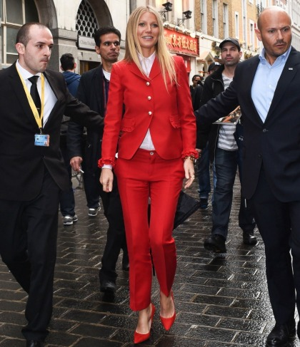 Gwyneth Paltrow thinks she made it cool to try diets, yoga & acupuncture