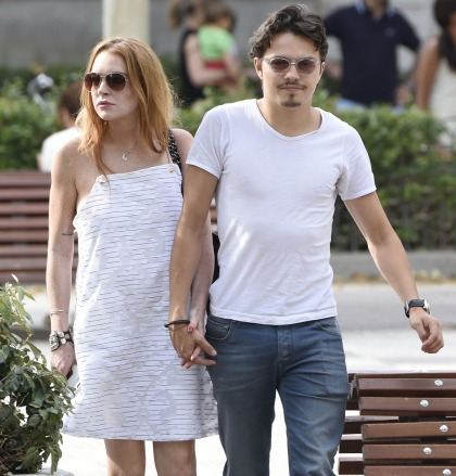Lindsay Lohan claimed that Egor cheated on her with a 'Russian hooker'
