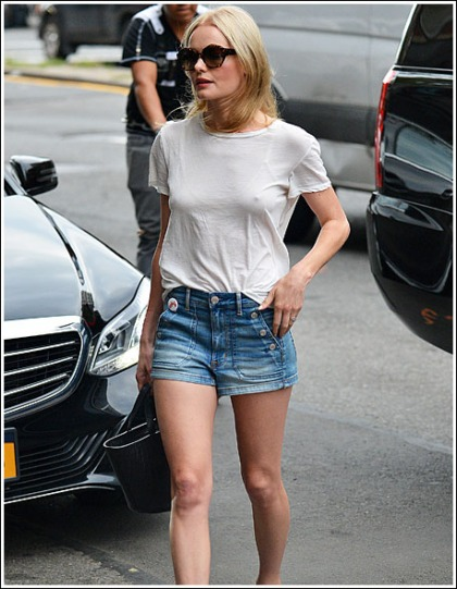 Kate Bosworth Gets Ultra Leggy And Boobtastic, Oh My!
