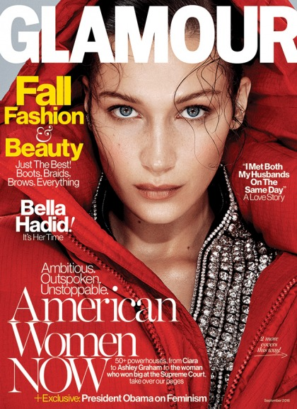 Bella Hadid, 19, learns 'more with photographers on set than I was in school'