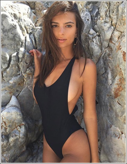 Emily Ratajkowski Boobtastic And Bootylicious In Tiny Bikinis, Oh My!