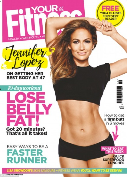 Jennifer Lopez's fitness tips: wash your face after a workout, get sleep