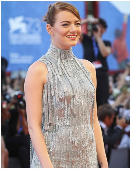 Emma Stone Looking All Kinds Of Uber Cute And Perky