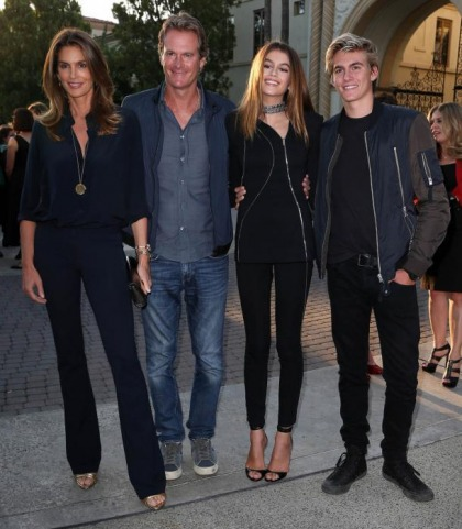 Cindy Crawford And Family Have Good Genes