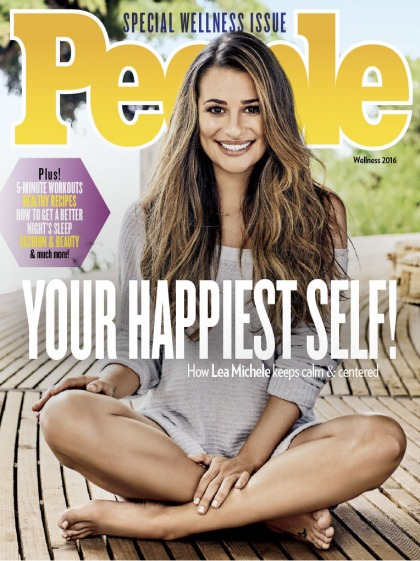Lea Michele on her body shape: 'If I can do it, anybody can do it'