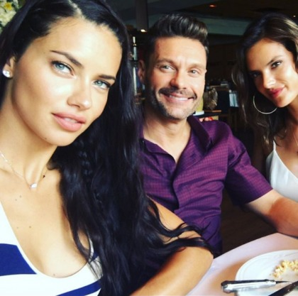 Ryan Seacrest, 41, is now dating Adriana Lima, 35: makes sense or odd?