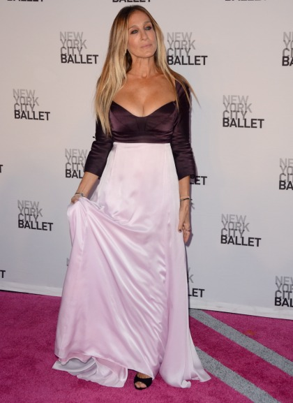 Sarah Jessica Parker in Narciso Rodriguez at NYCB gala: cheap or cute?