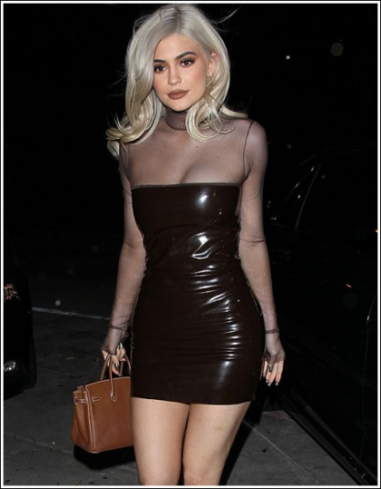 Kylie Jenner Gets Cleavagy, Curvy, Leggy, Bootylicious, And Sexier Than Ever!